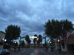 stormy main street